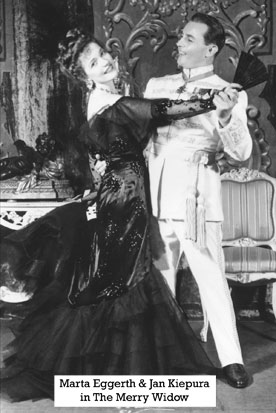 Marta Eggerth and Jan Kiepura in The Merry Widow